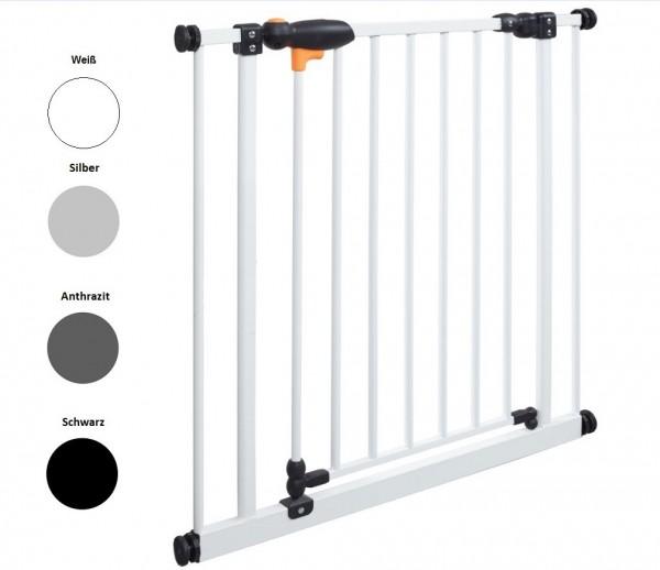 IMPAG® Tür- und Treppenschutzgitter TriLock Lava-Anthrazit 73 - 82 cm