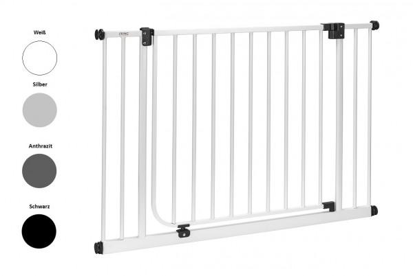 IMPAG® Tür- und Treppenschutzgitter XXL Polar-Weiß 155 - 163 cm