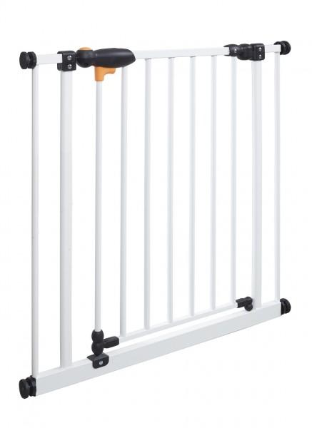 IMPAG® Tür- und Treppenschutzgitter TriLock Polar-Weiß 73 - 82 cm