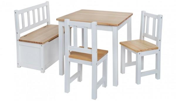 Große Kinder-Sitzgruppe | Nordische Fichte | Möbel-Qualität
