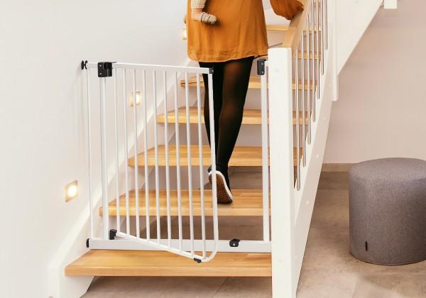 IMPAG® Treppenschutzgitter One Gate 105 - 113 cm Lava-Anthrazit ohne Verbreiterungen