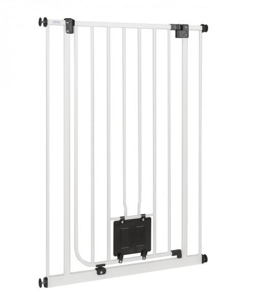 IMPAG® Tür- und Treppenschutzgitter Nala Polar-Weiß 75 - 84 cm