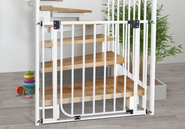 IMPAG® Treppenschutzgitter für Geländer, beidseitig 62 - 222 cm