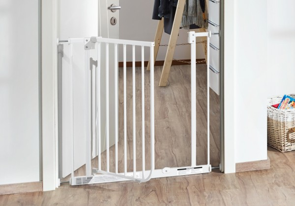 IMPAG® Türschutzgitter Easy Step polar weiss 83 - 92 cm