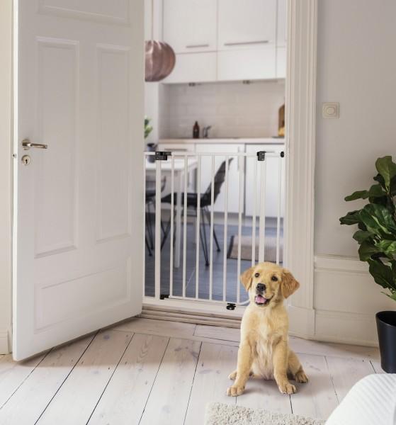 IMPAG® Tür- und Treppenschutzgitter Easy Step HIGH 73 - 222 cm