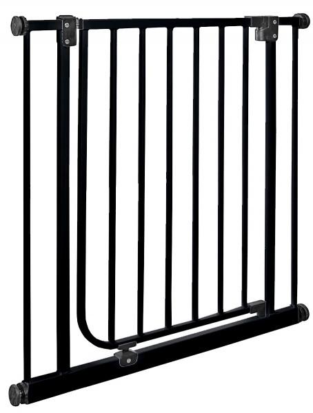 IMPAG® Türschutzgitter Easy Step Brilliant-Schwarz 83 - 92 cm