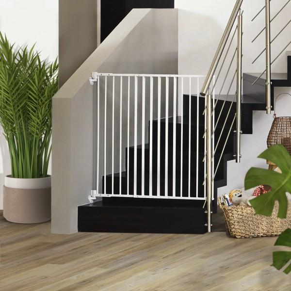 IMPAG® Treppenschutzgitter Easy Shut 65 - 115 cm