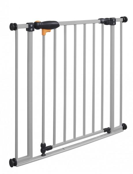 IMPAG® Tür- und Treppenschutzgitter Safe Step Italo-Silber 73 - 82 cm